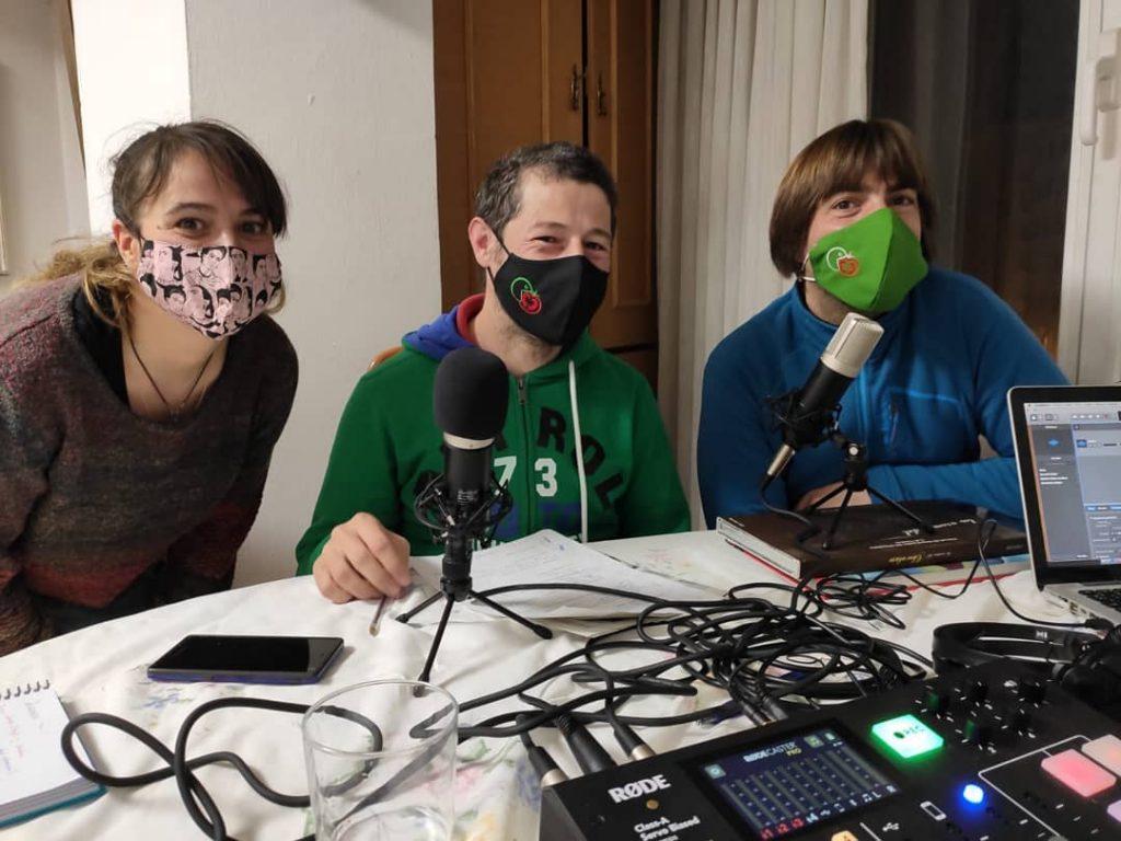huerteco en radio mundocolmena con Veronica Herrero